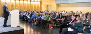 """Eindrücke von der Herbsttagung 2018 der Walder Stiftung, die sich ganz stark mit dem Thema """"Gute Betreunnng im Alter - Perspektiven der Schweiz"""" auseinandergesetzt hat und bei der die sieben Forderungen der Paul Schiller Stiftung auch von den anwesenden Fachleuten debattiert wurden."""